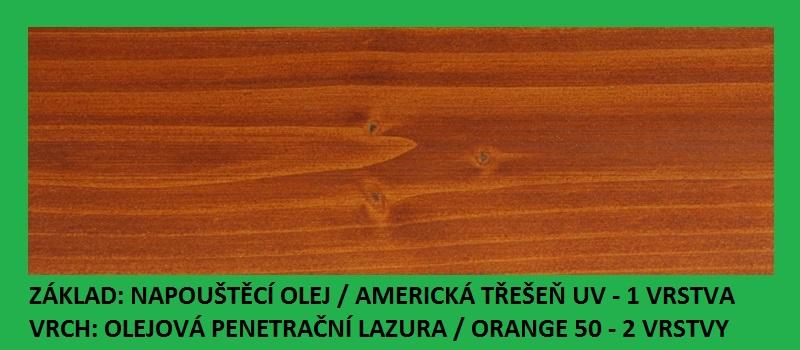 BBB Napouštěcí olej 2,7lt Americká třešeň UV