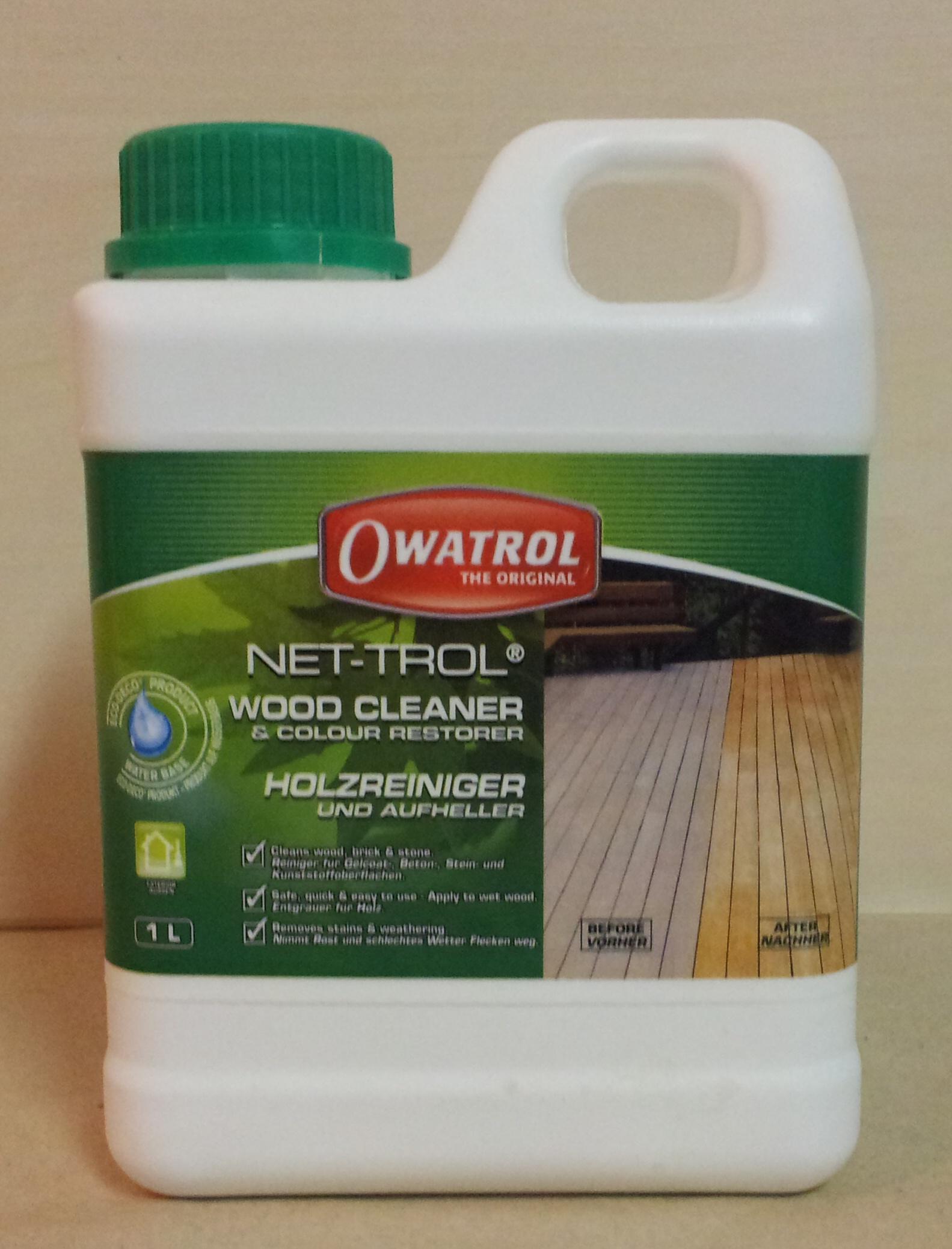 NET-TROL čistič a zesvětlovač 1lt