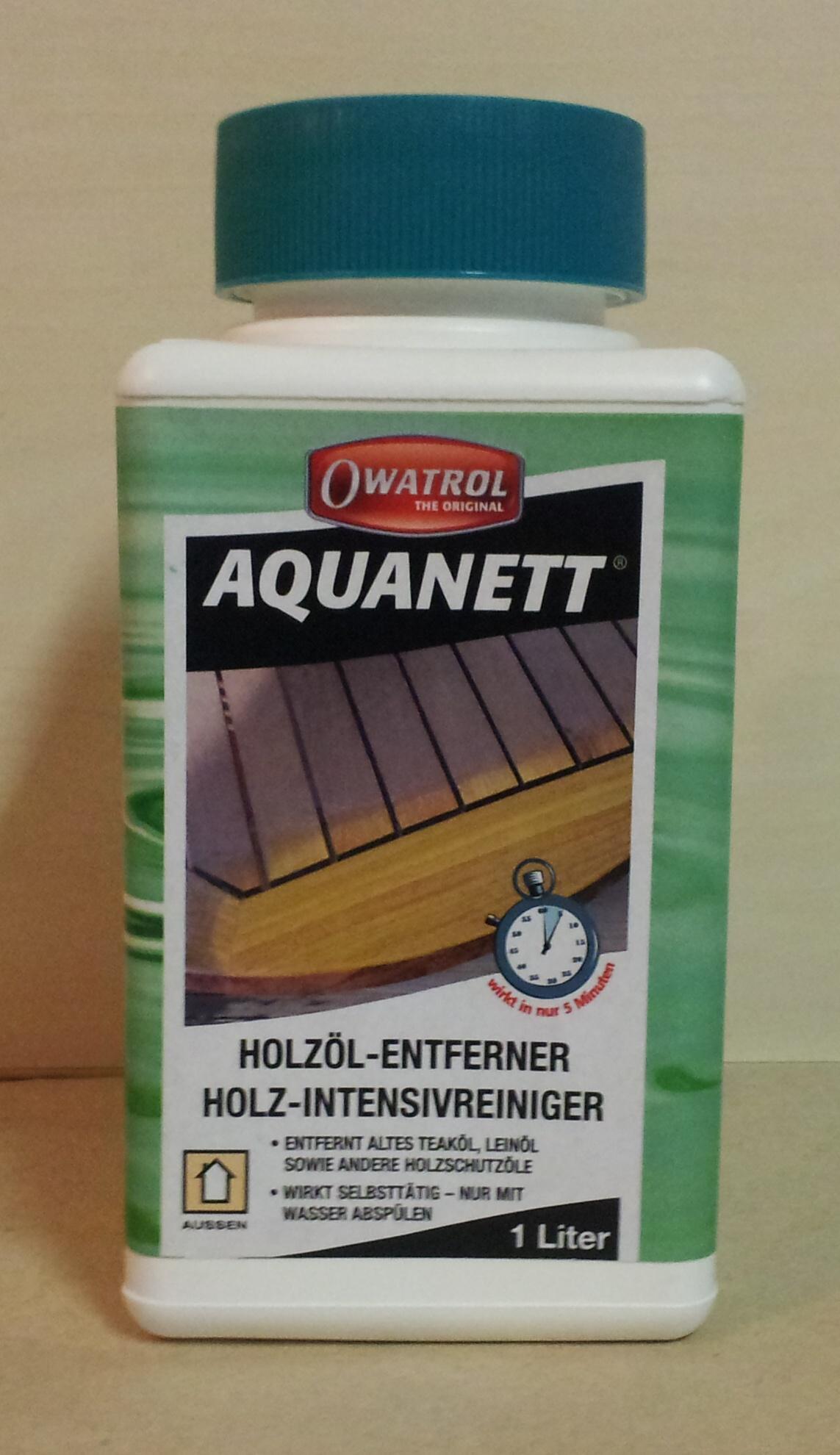 AQUANETT odstraňovač olejů 1lt