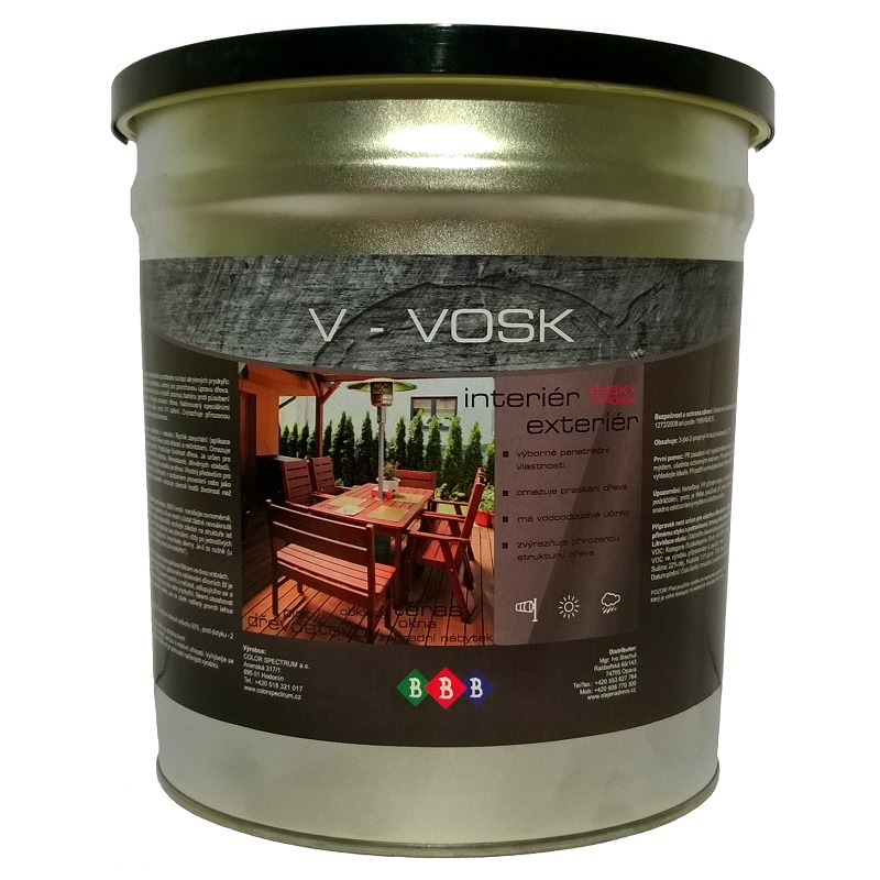 V-VOSK Transparent 4,5lt
