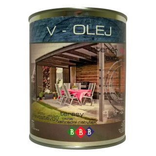 V-OLEJ Transparent 0,9lt